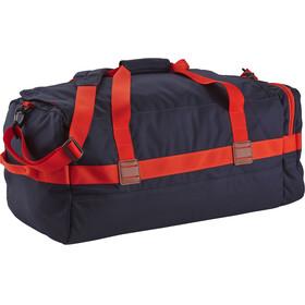 Patagonia Arbor Duffel Bag 60L Navy Blue W/Paintbrush Red